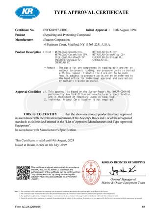Korean Register Certification