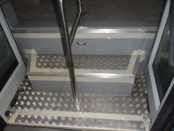 Bus Steps - Before