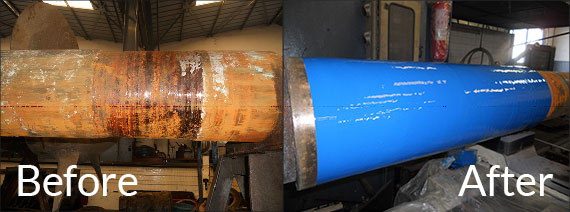 Before and After of Propeller Shaft