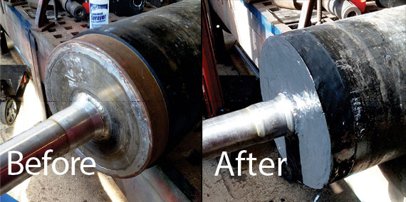 Emergency FLEXICLAD ER Repairs to Drive Shaft in One Day