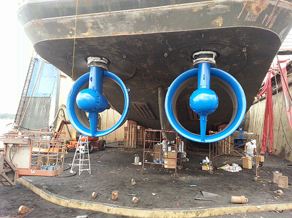 Tugboat Propellers