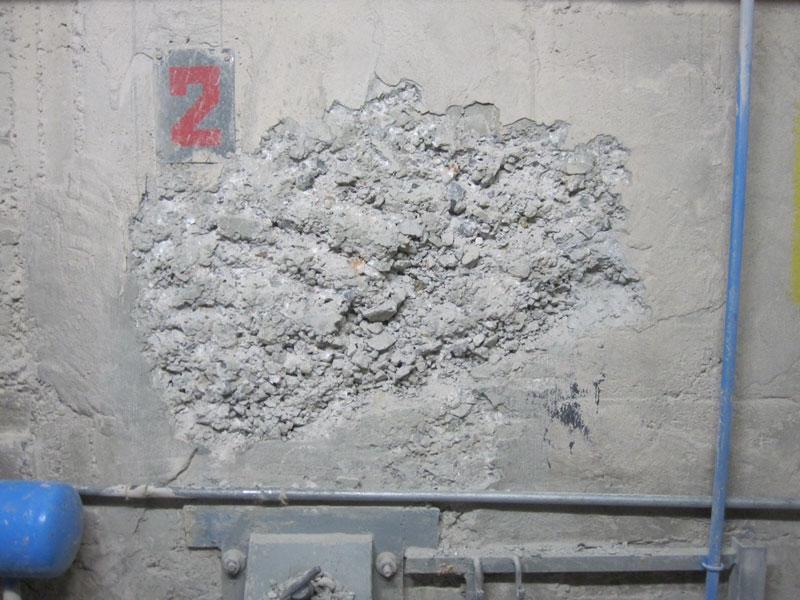 Enecon Spalling Concrete Repaired Repair Amp Maintenance