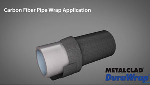Carbon Fiber Pipe Wrapping