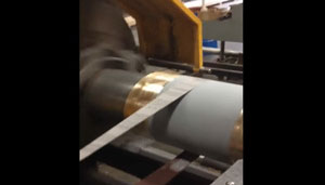 Tail Shaft Repair with DurAlloy